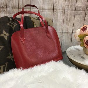 Louis Vuitton Red Lussac Epi